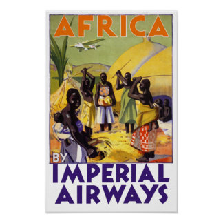 Africa by Imperial Airways Poster