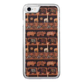 Africa Carved iPhone 8/7 Case