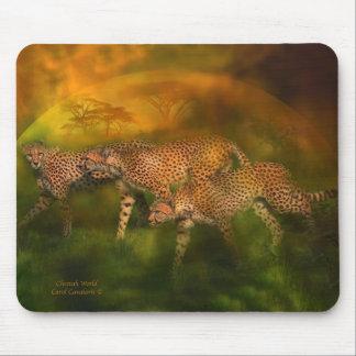 Africa - Cheetah World Art Mousepad