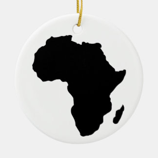 Africa Christmas Ornament