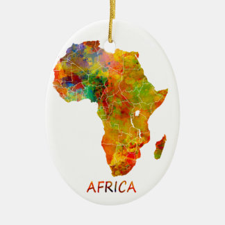 Africa Christmas Ornament