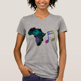 africa colorful music music lovers t-shirt design