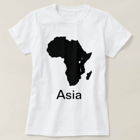 Africa Continental Asia T Shirt