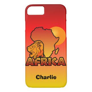 Africa custom monogram cases