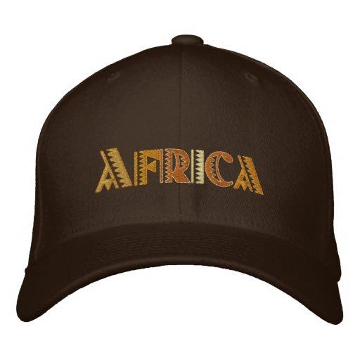 Africa Earth colours baseball cap