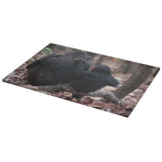 Africa, East Africa, Tanzania, Gombe National 2 Cutting Board