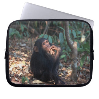 Africa, East Africa, Tanzania, Gombe National 2 Laptop Sleeve