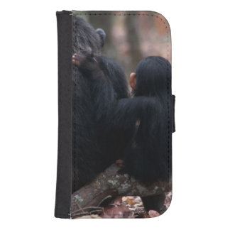 Africa, East Africa, Tanzania, Gombe National Samsung S4 Wallet Case