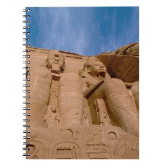 Africa, Egypt, Abu Simbel, Ramses II and Notebooks