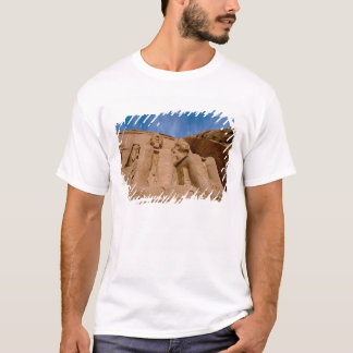 Africa, Egypt, Abu Simbel, Ramses II and T-Shirt