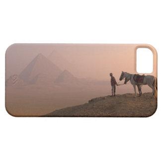 Africa, Egypt, Cairo, Giza, Giza pyramids at iPhone 5 Case