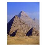 Africa, Egypt, Cairo, Giza. Great pyramids