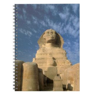 Africa, Egypt, Cairo, Giza Plateau. Sphinx Notebooks
