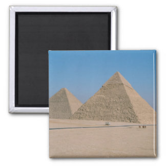 Africa - Egypt - Cairo - Great Pyramids of Giza, Square Magnet