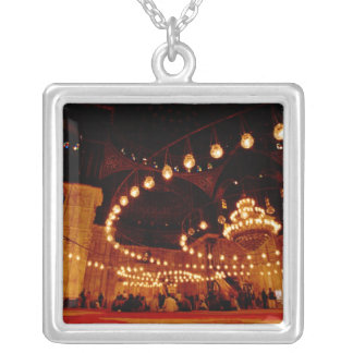 Africa, Egypt, Cairo, Muhammad Ali Mosque, The Silver Plated Necklace