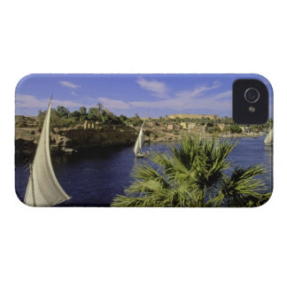 Africa, Egypt, Upper Egypt, Aswan. Feluccas 2 iPhone 4 Cover