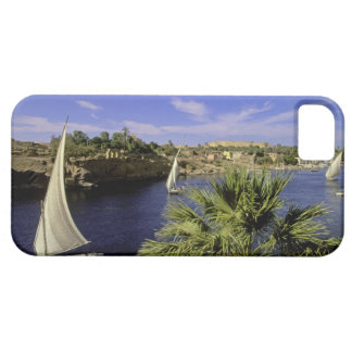 Africa, Egypt, Upper Egypt, Aswan. Feluccas 2 iPhone 5 Cover