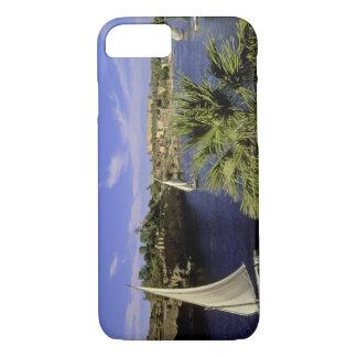 Africa, Egypt, Upper Egypt, Aswan. Feluccas 2 iPhone 8/7 Case