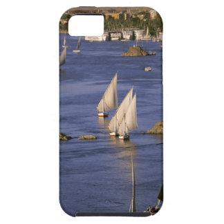 Africa, Egypt, Upper Egypt, Aswan. Feluccas Tough iPhone 5 Case
