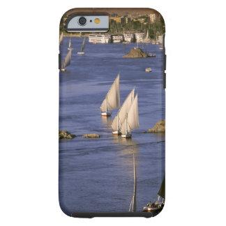 Africa, Egypt, Upper Egypt, Aswan. Feluccas Tough iPhone 6 Case