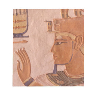 Africa, Egypt, Valley of the Kings. Tomb wall Notepads