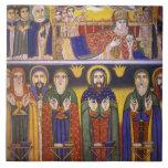 Africa, Ethiopia. Artwork depicting apostles and
