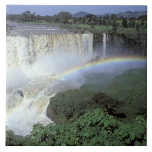 Africa Ethiopia Blue Nile River Cataract 2