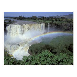 Africa, Ethiopia, Blue Nile River, Cataract. 2 Postcard