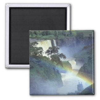 Africa, Ethiopia, Blue Nile River, Cataract. Magnet