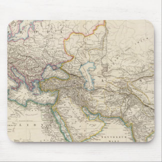 Africa, Europe and western Asia Atlas Map Mouse Mat