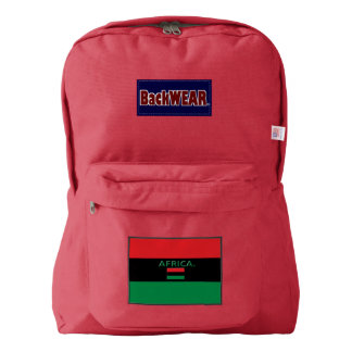 Africa Flag Modern backpacks Buy Online Backpack