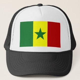 Africa: Flag of Republic of Senegal Trucker Hat