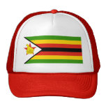 AFRICA: FLAG OF ZIMBABWE CAP