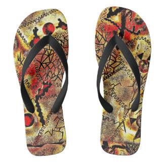 Africa Flip Flops by Chichico