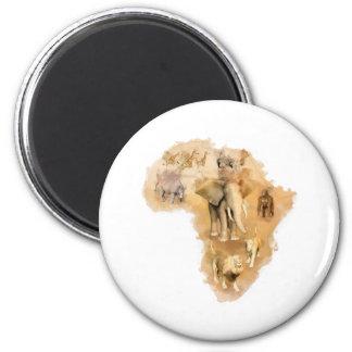 Africa Fridge Magnets