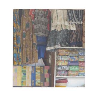 Africa, Ghana, Accra. Accra Textile & Handicraft Notepad