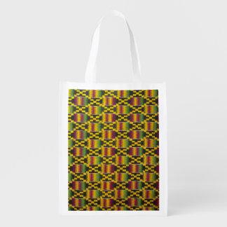 Africa, Ghana, Accra. National Museum, regarded 2 Reusable Grocery Bag