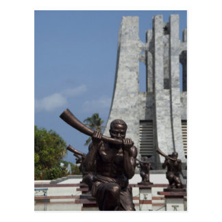 Africa, Ghana, Accra. Nkrumah Mausoleum, final 2 Postcard