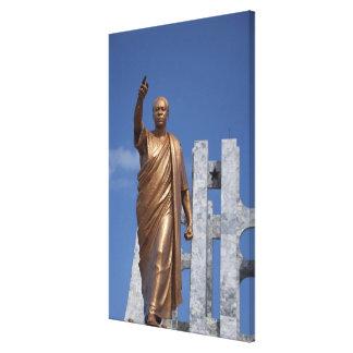 Africa, Ghana, Accra. Nkrumah Mausoleum, final Canvas Print