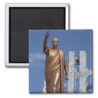 Africa, Ghana, Accra. Nkrumah Mausoleum, final Refrigerator Magnets