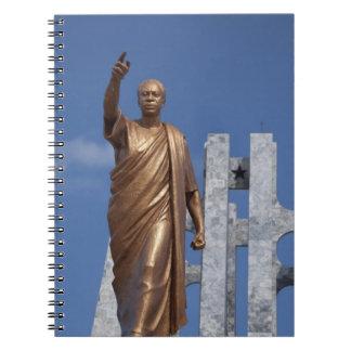 Africa, Ghana, Accra. Nkrumah Mausoleum, final Notebook