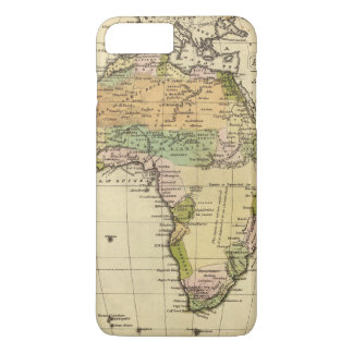 Africa Hand Colored Atlas Map iPhone 8 Plus/7 Plus Case