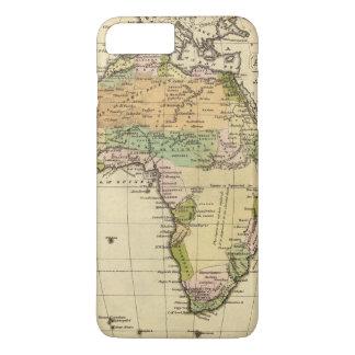 Africa Hand Colored Atlas Map iPhone 8 Plus/7 Plus Case