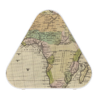 Africa Hand Colored Atlas Map