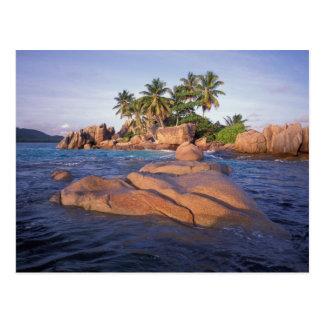 Africa, Indian Ocean, Seychelles, Praslin Postcard
