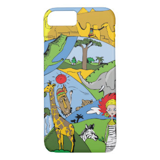 Africa iPhone 7 Case