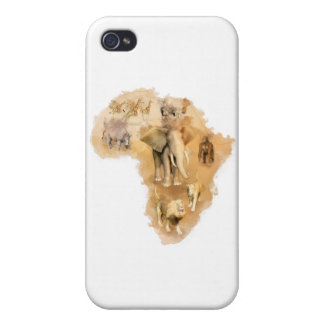 Africa Covers For iPhone 4