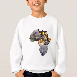 Africa is wild sweatshirt