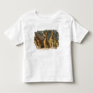 Africa. Kenya. Herd of Reticulated Giraffes at Toddler T-Shirt