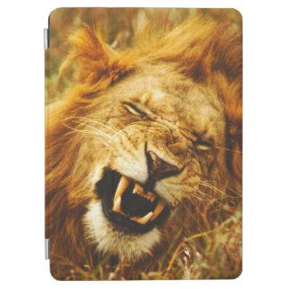 Africa, Kenya, Maasai Mara. Male lion. Wild iPad Air Cover
